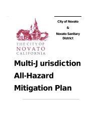 Novato (PDF) - Hazard Mitigation Web Portal - State of California