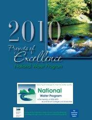 High resolution print-friendly version - National Water Program