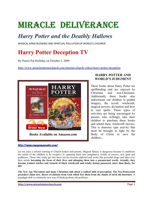 Harry Potter And The Deathly Hallows Remnant Radio Home Page