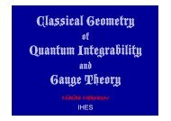 The gauge theory - From Sigma Models to Four-dimensional QFT