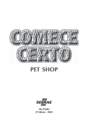 Pet Shop do SEBRAE