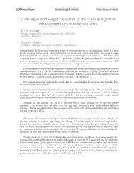 2008 N W Schaad (Cultivation and Sequencing of HLB) - Citrus ...
