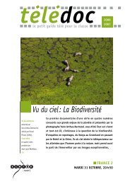 Vu du ciel: La Biodiversité - CNDP