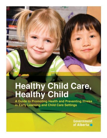 Healthy Child Care, Healthy Child Brochure