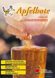 Apfelbote 2/ 2004 - Gutes aus Hessen