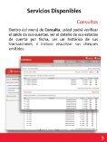 Manual de Uso Sucursal Electrónica - Credomatic - Page 7