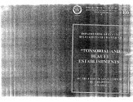 Chapter 12. Tonsorial and Beauty Establishments - Department of ...