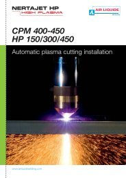 CPM 400-450 - Air Liquide Welding