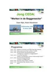 Jong CEDA - Central Dredging Association