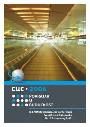 CUC 2006 brošura - CARNet