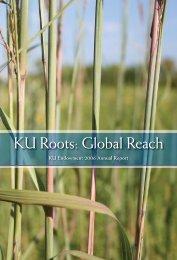 2006 Annual Report PDF - KU Endowment