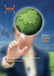visiedocument 'MKB-accountant 2020' - NBA