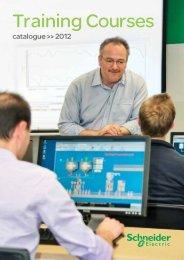 Schneider Electric Training Courses 2012