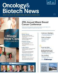 29th Annual Miami Breast Cancer Conference - OncLive
