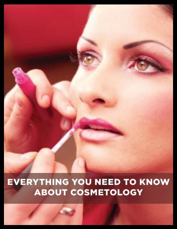 everything you need to know about cosmetology - Career Speed