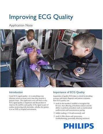 Improving ECG Quality - InCenter - Philips