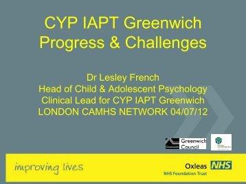 CYP-IAPT-greenwich-p.. - London Health Programmes