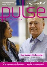 New Membership Campaign - Papworth Hospital