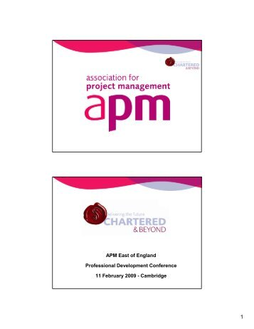 Defining the Chartered Project Professional - Association for Project ...