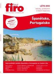 Španělsko, Portugalsko - FIRO-tour, a.s.