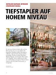 hotelier raphael wyniger (teufelhof basel) - hoteljournal.ch