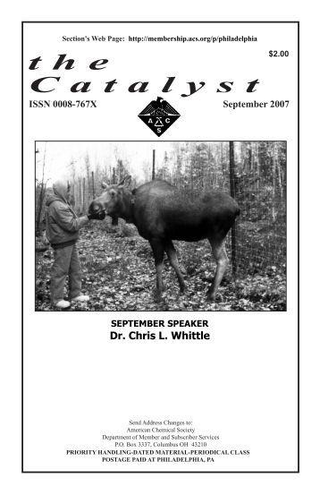 September Issue - Philadelphia Local Section - American Chemical ...