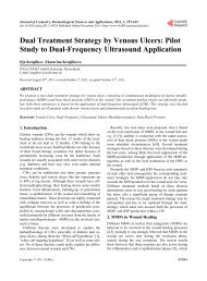 Pilot Study to Dual-Frequency Ultrasound Application