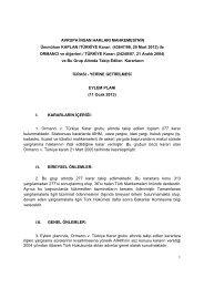 Ormancı Grubu Eylem Planı Türkçe metni için tıklayınız…
