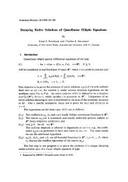 Decaying Entire Solutions of Quasilinear Elliptic Equations