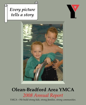 2009 combined annual report - Olean YMCA