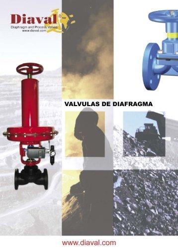 VALVULAS DE DIAFRAGMA - COMEVAL
