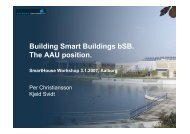 building smart - It.civil.aau.dk - Aalborg Universitet