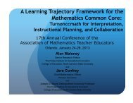 A-Learning-Trajectory-Framework-presentation
