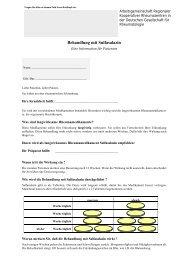 Behandlung mit Sulfasalazin - Rheumazentrum Heidelberg