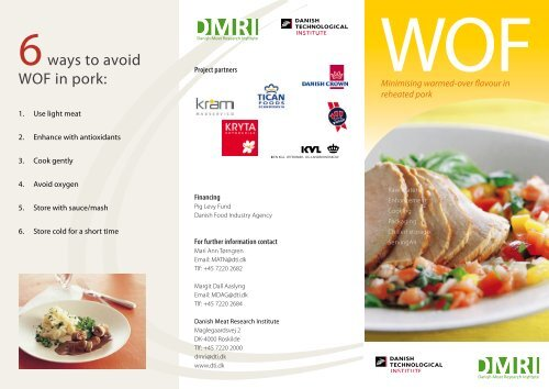 WOF - cook n chill - Danish Technological Institute