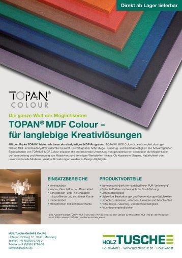 Holz Tusche | TOPAN® MDF Colour