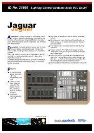 ID-No. 21666 Lighting Control Systems Avab VLC Safari Application