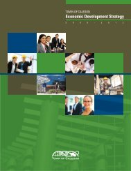 download our economic development strategy - Town of Caledon
