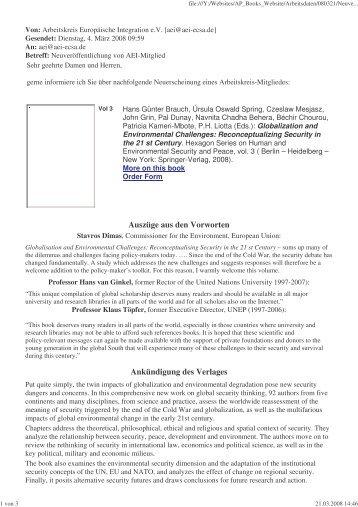 AEI news ( Germany) - Afes-press-books.de