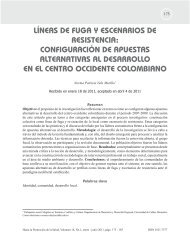 líneas de fuga y escenarios de resistencia - Hacia la Promoción de ...