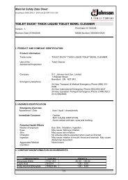 TOILET DUCK* THICK LIQUID TOILET BOWL CLEANER - JBS Group