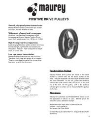 """l tooth pitch (3/8"""") timing pulleys"""
