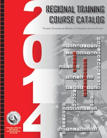 Regional Training Course Catalog - the Mechanical Contractors ...