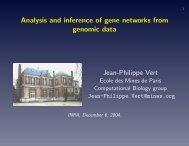 slides - Center for Computational Biology