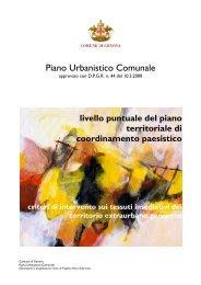 Piano Urbanistico Comunale - PUC - Comune di Genova