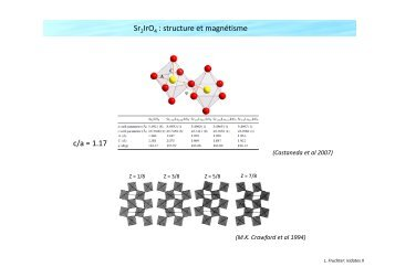 An introduction to iridates materials II