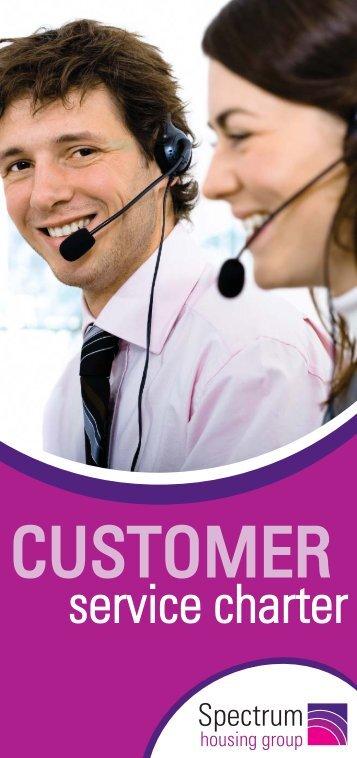 Customer Service Charter - Spectrum Housing Group