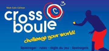 Crossboule Regeln als PDF zum Download - Jugglux