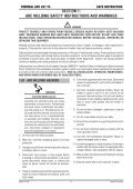 201 TS Operating Manual THERMAL ARC - Victor Technologies - Page 7