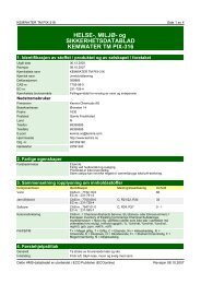 og SIKKERHETSDATABLAD KEMWATER TM PIX-316 - Kemira